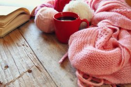 Wool Knitted Scarf
