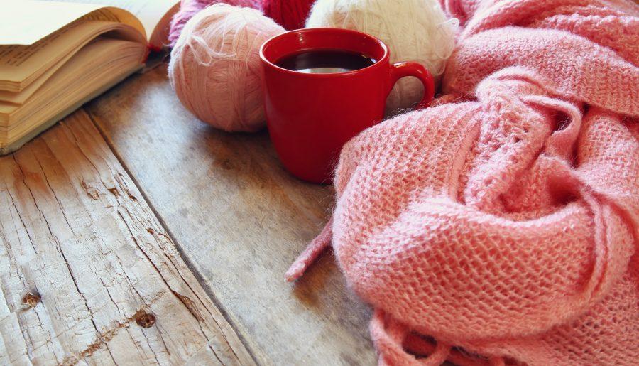 Tea on Wood Table