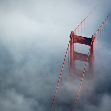 Mist All Around The Golden Gate Bridge